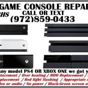 Ps5 PS4 XBOX SERIES X XBOX ONE for Sale in Grand Prairie, TX