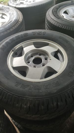 Tire and rim set for Sale in Ball, LA