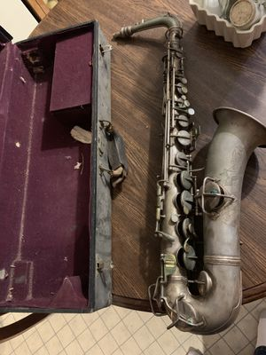1914 Engraved C.G.Conn Saxophone w/Case for Sale in Virginia Beach, VA