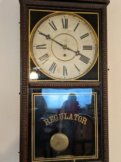 Antique Regulator Clock for Sale in Salem,  OR