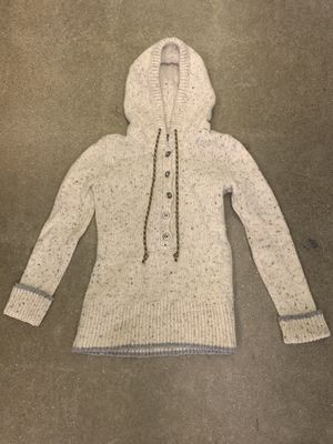 Womens PATAGONIA RANCHITO PULLOVER HOODED WOOL SWEATER Size Small Mix Blend for Sale in Pelham, NH
