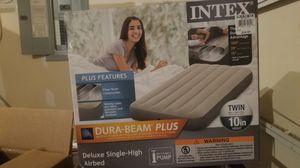 Intex twin air mattress - NEW IN BOX for Sale in Lynnwood, WA