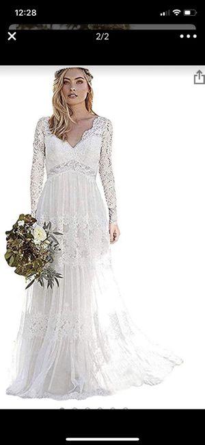 Boho wedding dress for Sale in Centralia, WA
