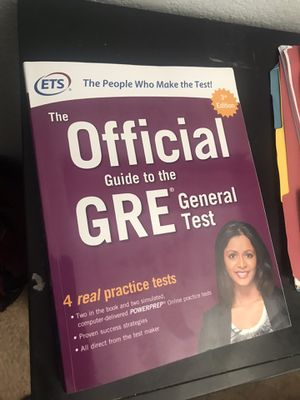 GRE official general test for Sale in Perris, CA