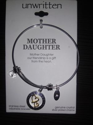 Unwritten silver mother daughter bracelet for Sale in Portland, OR