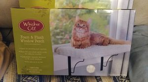 #1. Whisker City Foam & Plush Window Perch for your Kitty. (BNIB) for Sale in Tacoma, WA