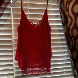 Med. Red Women Tank Top for Sale in San Angelo,  TX