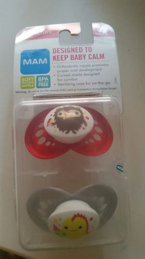 MAM 2 pack pacifier never opened for Sale in New York, NY