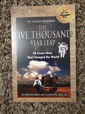 Five thousand year leap Skousen Cleon for Sale in Glendale, AZ