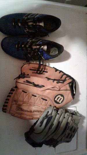 Gloves and cleats for Sale in Mount Juliet, TN