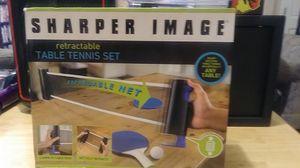 Sharper Image retractable table tennis set for Sale in Wichita, KS