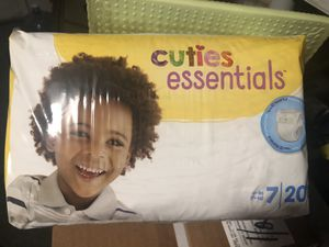 Cuties Pull-ups size Small/medium And Cuties diapers size 7 $6 each pack or $20 per box for Sale in San Jose, CA
