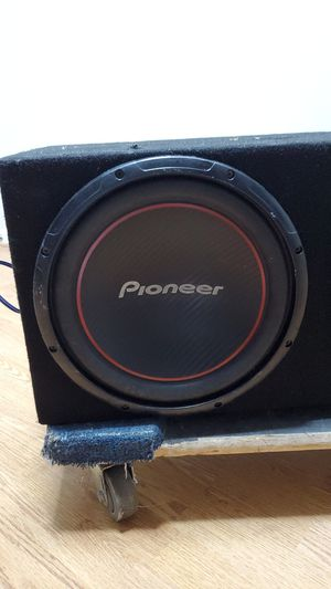 Pioneer subwoofer 12 for Sale in Coconut Creek, FL
