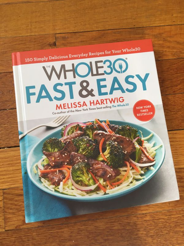 Whole 30 cook book
