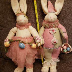 VINTAGE EASTER BOY AND GIRL BUNNY'S for Sale in Fort Myers, FL