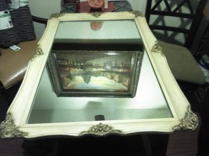 Beautiful Antique Decorative Mirror, 40 in. X 27in. for Sale in Fresno, CA