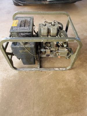 Vintage Military Standard Generator for Sale in Abilene, TX