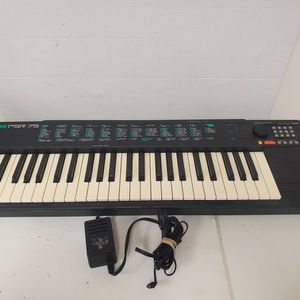 Vintage Yamaha PSR-75 Portable Electric Keyboard with Power Adapter for Sale in Duluth, GA