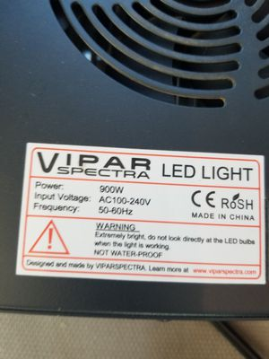 Vipar Spectra Led Grow Light for Sale in Colorado Springs, CO