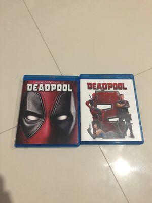 Deadpool 1 & 2 Blu Ray for Sale in Lauderhill, FL