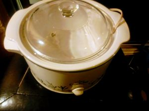 (60$) Rival Crock Pot w cover for Sale in Phoenix, AZ