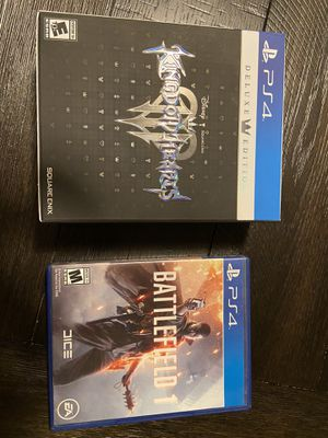 Kingdom Hearts 3 Deluxe Edition for Sale in Yucaipa, CA