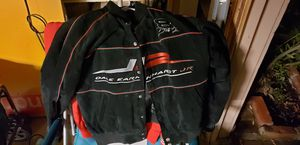 Budweiser Dale Earnhart Jr Leather jacket and sweatshirt combo size medium for Sale in Lake View Terrace, CA