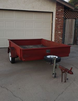 Tilt Bed Utility Trailer for Sale in Norco, CA