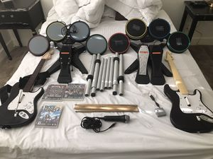 Complete rockband setup for Sale in San Diego, CA