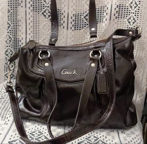 Coach patent leather bag for Sale in Englewood, CO