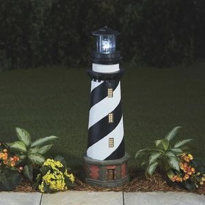 Water Fountain Garden Solar Lighthouse $85.00 for Sale in Visalia, CA
