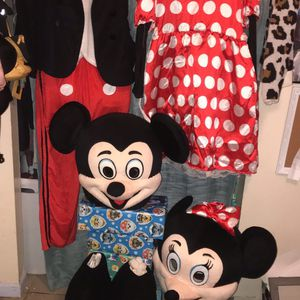 Mikey And Minnie Mouse Costumes for Sale in Madera, CA