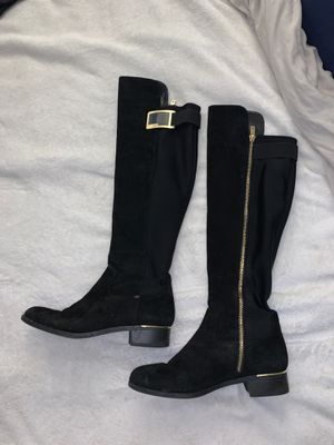 Calvin Klein fall boots knee length for Sale in Del Mar, CA