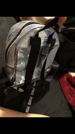 Pink small clear backpack for Sale in Englewood, CO