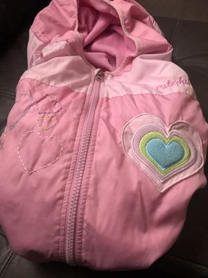 Baby Snuggie go over car seat keep u baby warm for Sale in Pittsville, MD