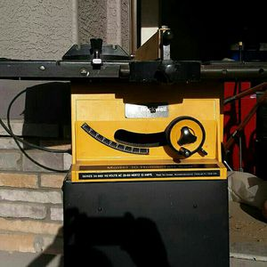Rockwell Table Saw W/ Assortment Of Blades for Sale in Glendale, AZ
