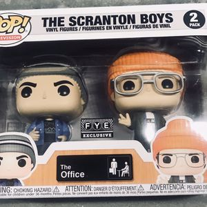 Funko Pop! THE SCRANTON BOYS 2 Pack The Office 2020 FYE Exclusive IN HAND for Sale in Fairfield, OH