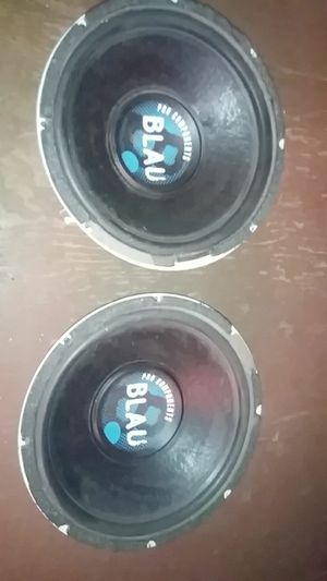 12 inch Blau component subwoofers for Sale in Phoenix, AZ