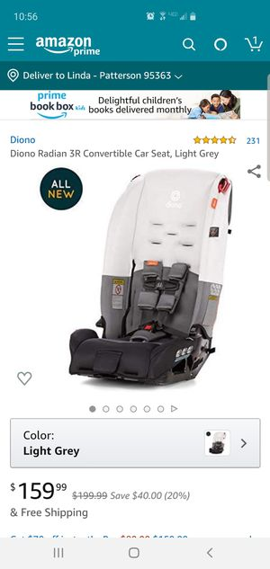 Diono radian 3R car seat for Sale in Patterson, CA