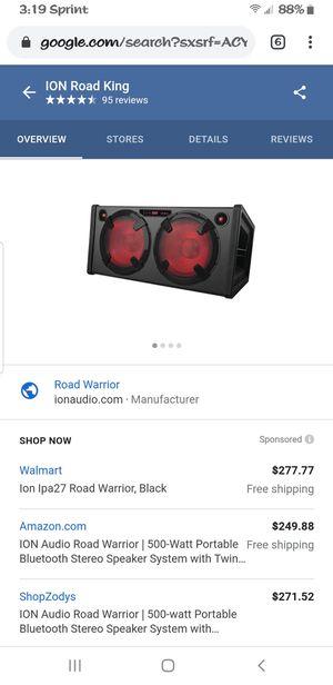 ion road warrior speaker for Sale in Santa Maria, CA