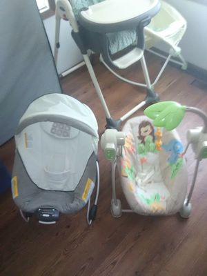 Baby stuff good shape for Sale in Amboy, MN