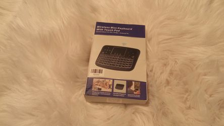 Wireless Mini Keyboard With Touch Pad For Laptops or PC Computers for Sale in Spokane,  WA