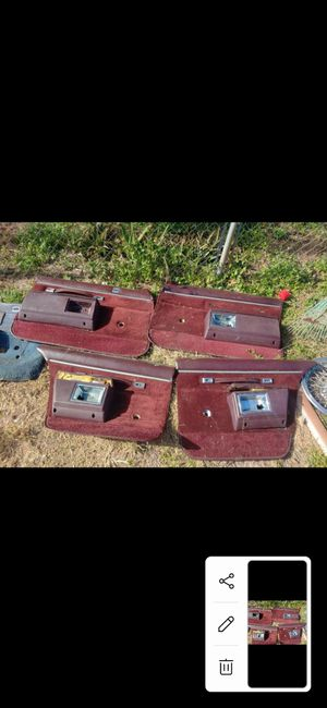 Caprice impala box Chevy door panel part for Sale in Fort Lauderdale, FL