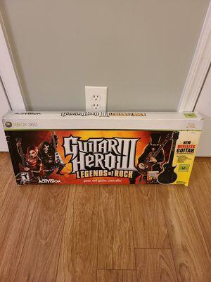 Xbox 360 Guitar Hero III Bundle for Sale in Fairfax, VA