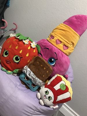 Shopkins stuffed toys for Sale in Houston, TX