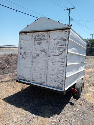 5x8 trailer homemade no paperwork new tires 200 today for Sale in French Camp, CA