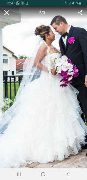 David Bridal Ole Cassini Wedding Dress for Sale in Miami Gardens, FL