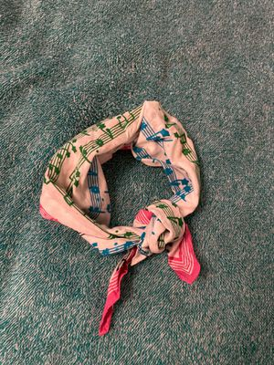 Neck Scarf - Rainbow Musical Notes for Sale in Ithaca, NY