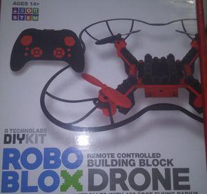 DIY kit roboblox remote control building block drone for Sale in Oklahoma City, OK