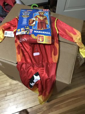 Marshall child costume size 4-6 for Sale in Hoffman Estates, IL